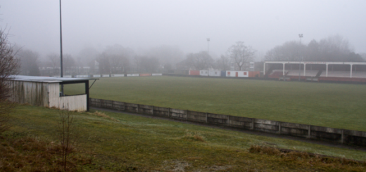 Salford City's Moor Lane is hardly Football League material