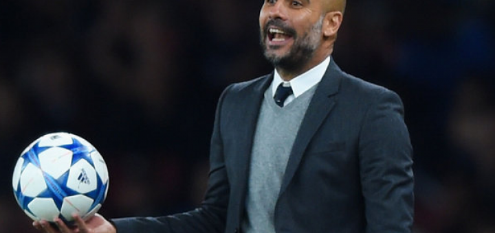 Guardiola saw his City side soundly beaten by Barcelona