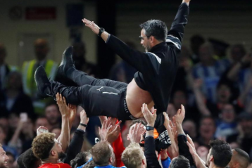 Huddersfield Manager David Wagner rescues from the drop